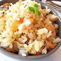 时蔬海米炒饭的做法图解16