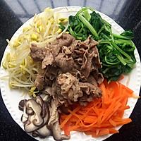 石锅肥牛拌饭的做法图解3