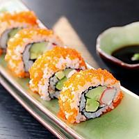 上班族的活力营养午餐 反卷寿司·加州卷·的做法图解7