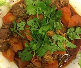 羊排烧红萝卜的做法