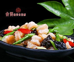 新手也能做的美味【芦笋炒虾仁】的做法