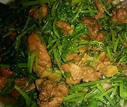 炎爆(香菜)骨肉相连的做法