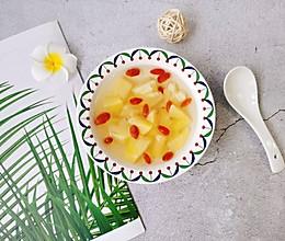 冰糖菠萝汤#入秋滋补正当时#的做法