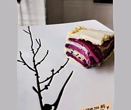 辅食小能手~紫薯山药糕的做法