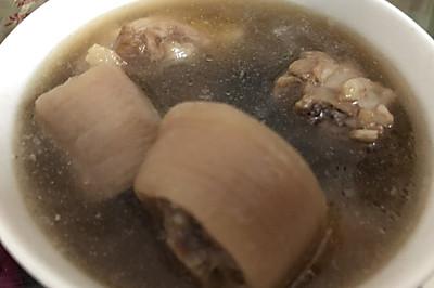 猪尾杜仲补血补肾养颜汤