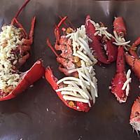 蒜蓉芝士焗龙虾的做法图解12