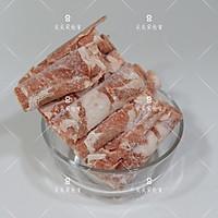 羊肉卷萝卜汤#春天肉菜这样吃#的做法图解2