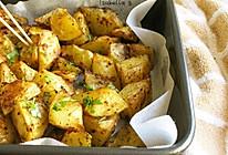 追剧零食——烤薯角的做法
