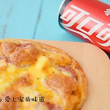 手抓饼肉香满溢披萨