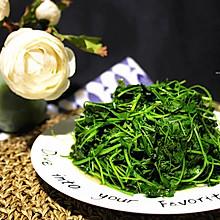 清淡的美味—酒香草头(金花菜)
