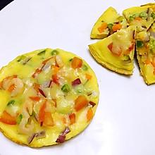 鲜虾杂蔬披萨(无需烤箱版)