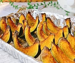 #我们约饭吧#黄油砂糖烤南瓜的做法