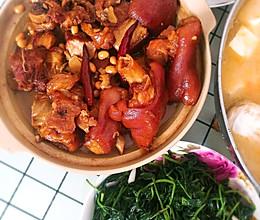 猪蹄焖黄豆(甜的,高压锅)的做法