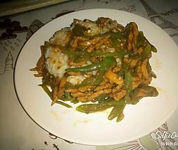 尖椒肉丝打卤面and打卤饭的做法
