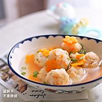 辅食--胡萝卜鳕鱼虾丸(9M+)