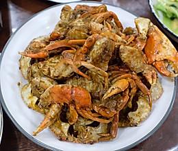 黑胡椒炒蟹的做法
