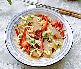五分钟快手菜-凉拌海蜇的做法