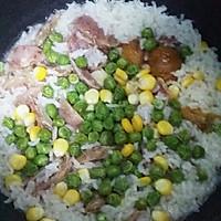 腊肠什锦焖饭 #美的初心电饭煲#的做法图解3