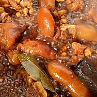 #橄榄中国味 感恩添美味#黄豆焖猪蹄 养颜又补钙的做法图解9