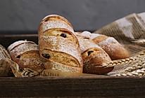 葡萄干全麦面包的做法