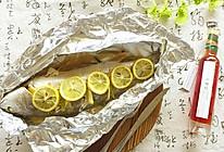 柠香锡纸包烤鱼的做法