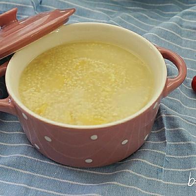 【养生粥】小米栗子粥