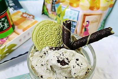 奥利奥抹茶冰淇淋