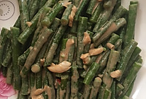 蒜味麻酱拌豇豆的做法
