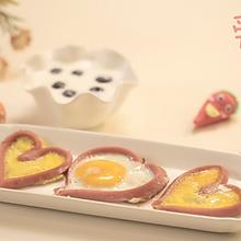 爱心鸡蛋#爱的味道#