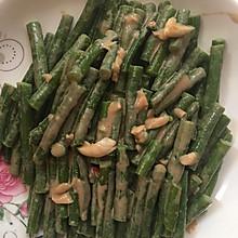 蒜味麻酱拌豇豆