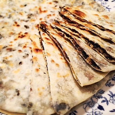 温州梅菜麦饼