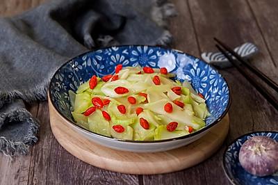 清炒枸杞儿菜