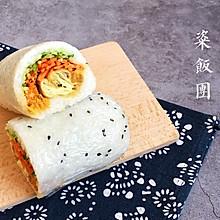 油条糯米粢饭团#人人能开小吃店#