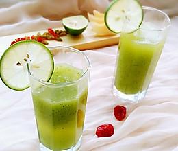 减脂蔬果汁 青瓜哈密瓜汁的做法
