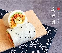 油条糯米粢饭团#人人能开小吃店#的做法