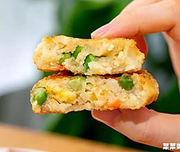 豆腐饼|快手营养的做法