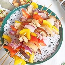 彩椒鸡胸肉串