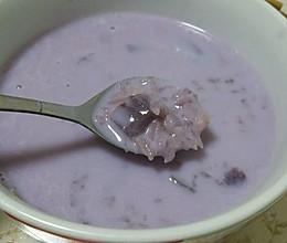 紫薯粥(白雪紫薯粥)的做法