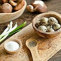 #快手又营养,我家的冬日必备菜品# 一口一个超鲜美的香菇酿蛋的做法图解1