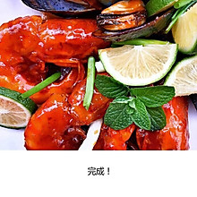 茄汁大明虾