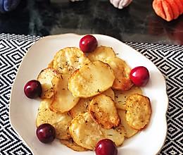 迭迭香烤土豆片(空气炸锅版)的做法