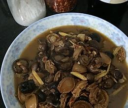 小干鲍鱼焖烧云南小蘑菇的做法