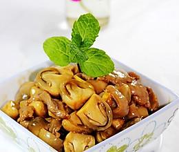 鲍汁炒草菇肉片 的做法