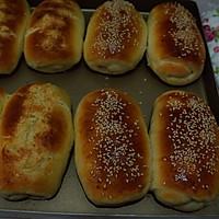 香肠乳酪小餐包#百吉福创意芝士早餐#