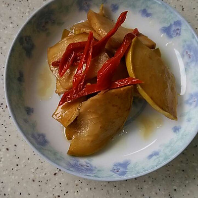 脆爽腌咸菜-苤蓝