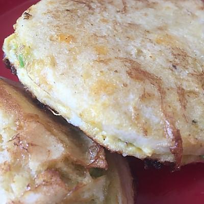 中式牛油果馒头蛋饼
