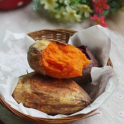 烤箱试用【烤红薯】