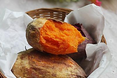 烤箱试用【烤红薯】#九阳烘焙剧场#
