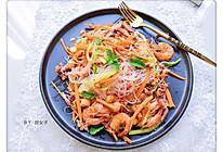 #麦子厨房#美食锅之泰式海鲜粉丝沙拉的做法