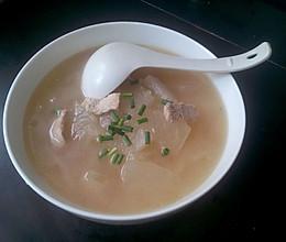 冬瓜肉片汤的做法